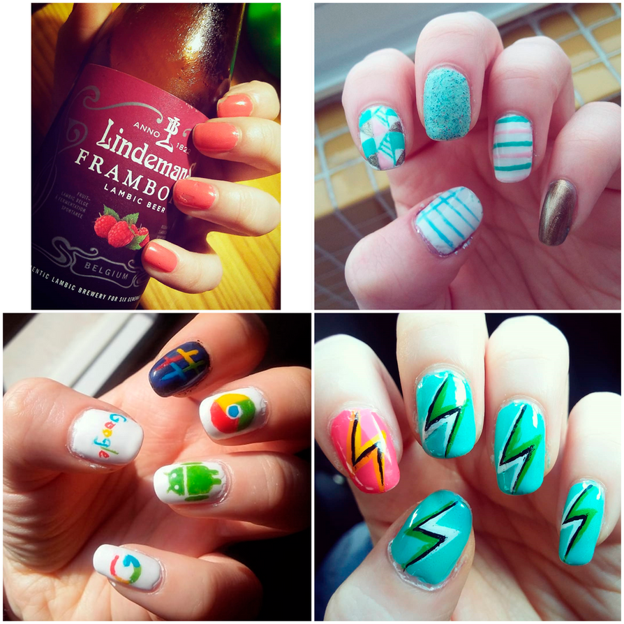 Nail Art February March 2018 By Rossally On Deviantart