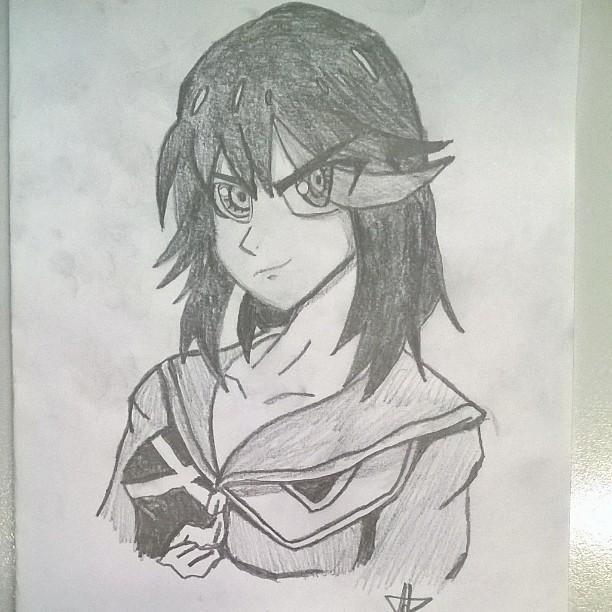 Ryuko Matoi (Kill la Kill) by EnialisDiamondlew
