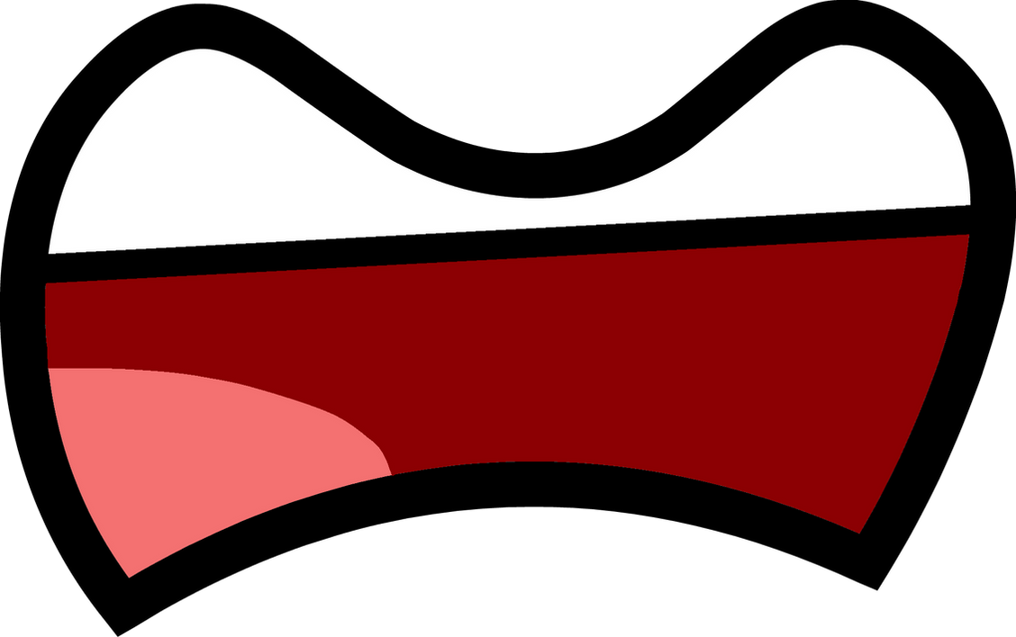 [Fan-Made Asset] Big Frown Mouth 4 (Open) By