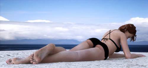 Lynette's Beach Photoshoot by restif