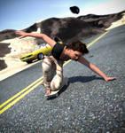 Teen Adrea Skater Girl: Lost Pic Series