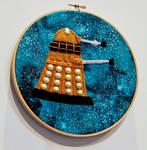Felt Dalek Wall Decoration by 3direwolfmoon