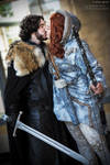 Jon Snow and Ygritte Game of Thrones Cosplay