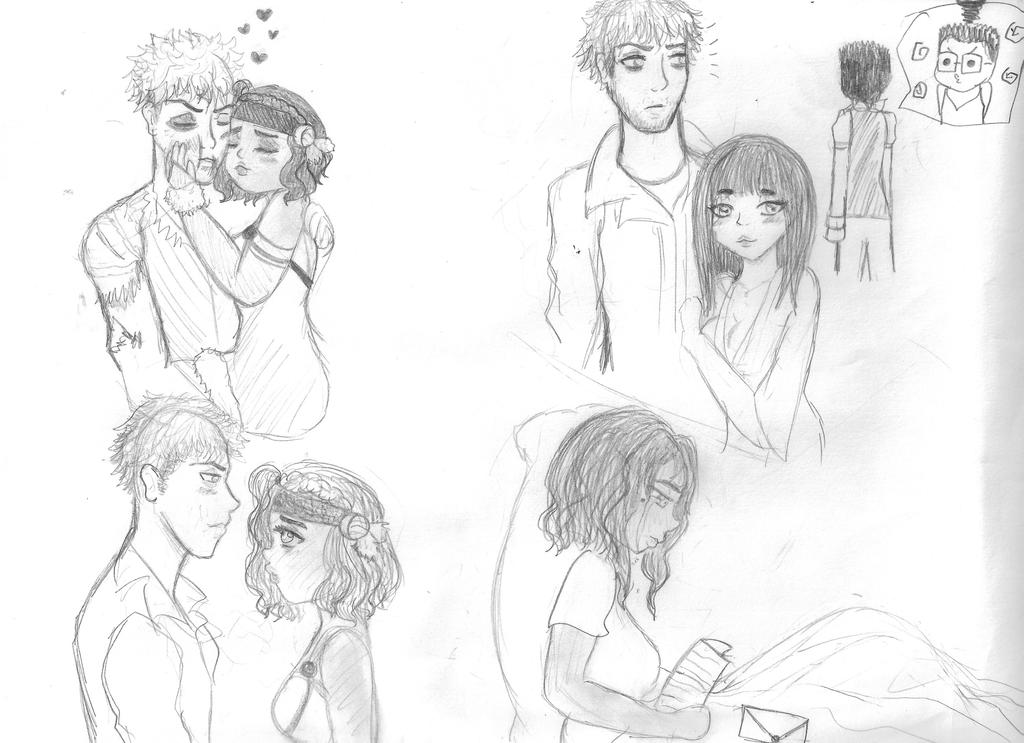 KasaDem Sketch 3-4-5 I dunno XD by Girl-In-Disorder
