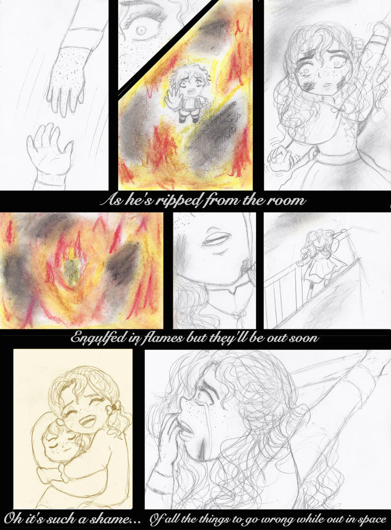 Maggie - A Fire Fire Song Fancomic Part 02 by Girl-In-Disorder