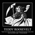 Roosevelt Motivational Poster