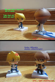 Yu-Gi-Oh! Fun with One Coin Grande Figures #1