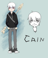 Cain (commission) by Catsupy