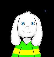 Asriel Dreemurr (Finished V.2) (Body and Stripes)