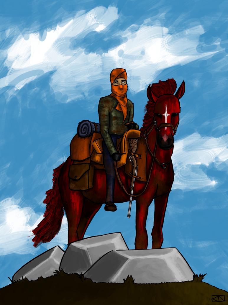 Horseman of the Apocolypse by momomo544