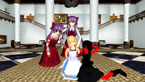 [MMD] Witch's House Viola and Ellen [Download]