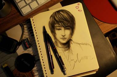 ...Korea breeze on my desk... by remstan