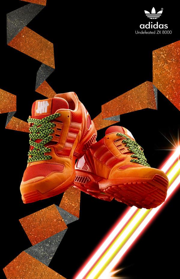 Adidas Zx 8000 Orange