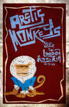 arctic monkeys live poster