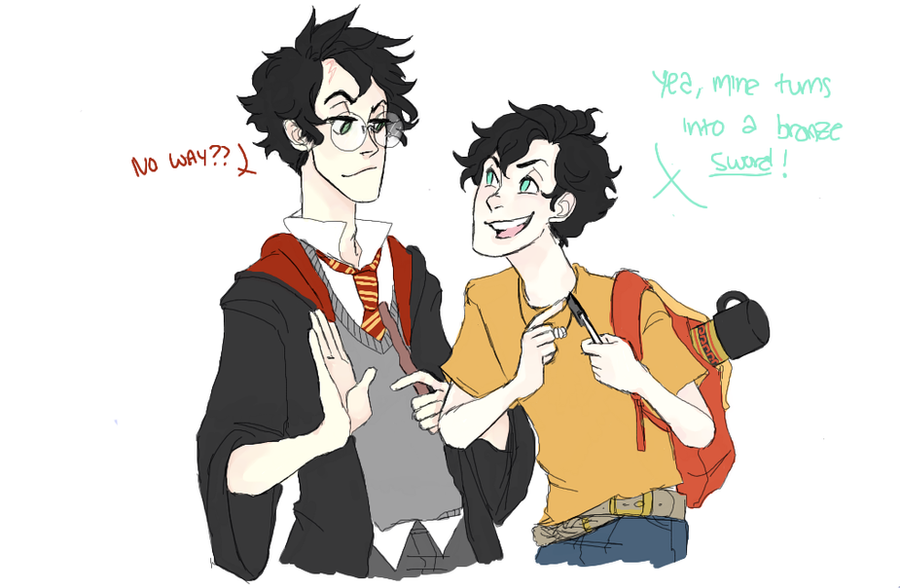 percy meets potter by bu-ko on DeviantArt