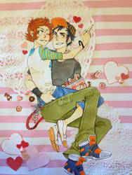 valentine by bu-ko