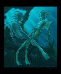 Flirtatious Aquasapiens