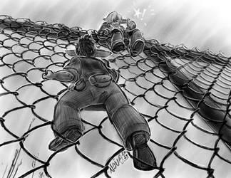 BtG - Fence Climb by In-Tays-Head