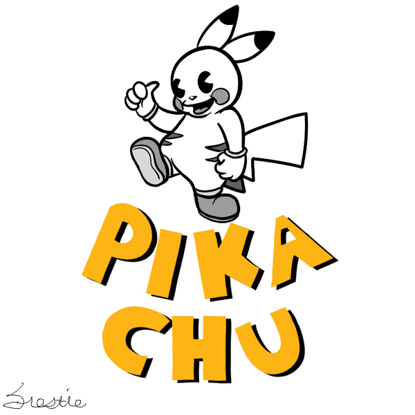 Your very own art - Page 29 Vintage_pikachu_by_aikawiifrostie-d8mnsze