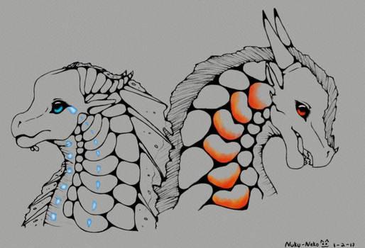 Aqua and Phoenix