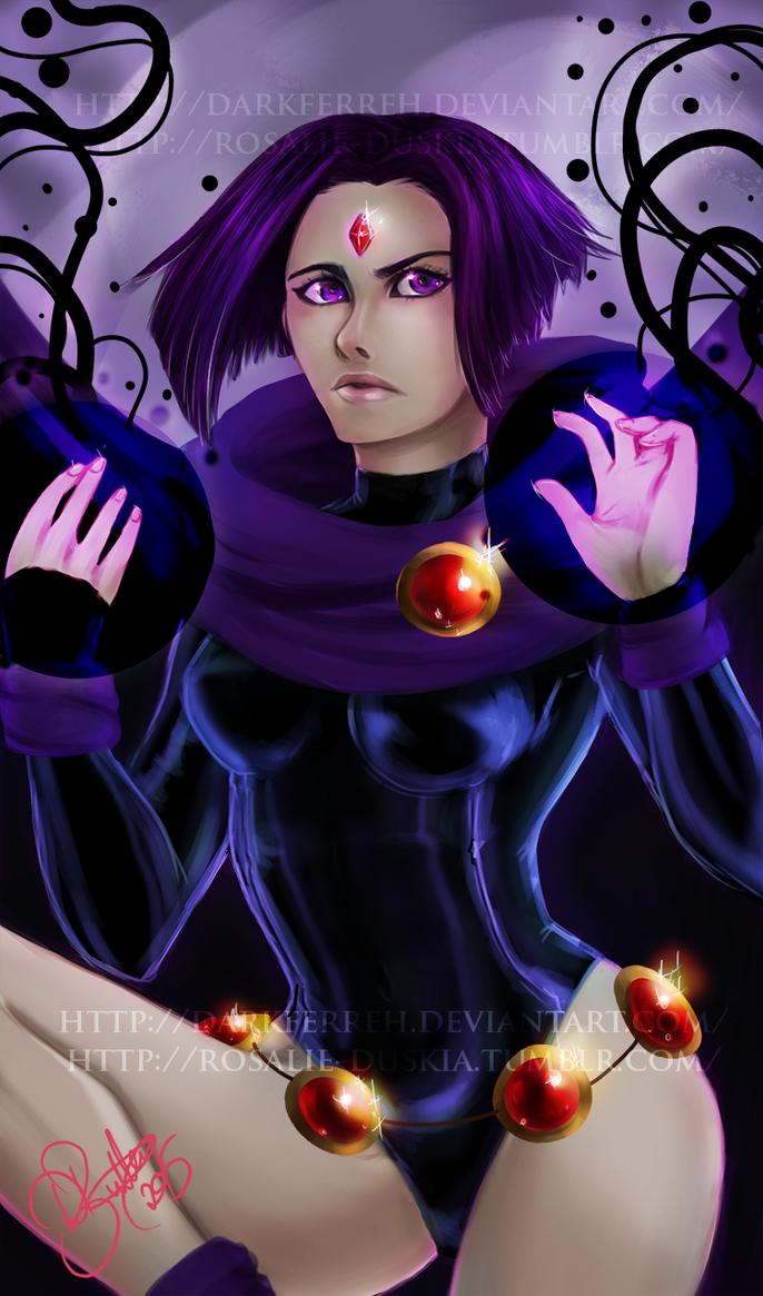 Azarath Metrion Zinthos! by DarkFerreh