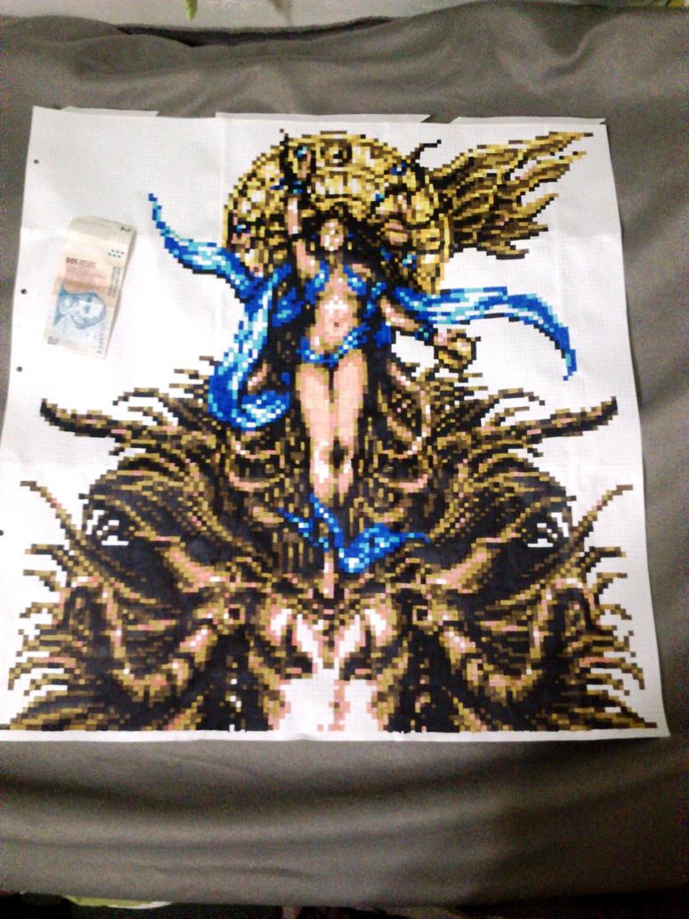 Goddess from Final Fantasy 6 by rofucker