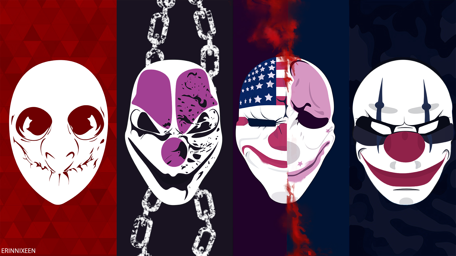 Payday2 Wallpaper By Lachesi173 On Deviantart