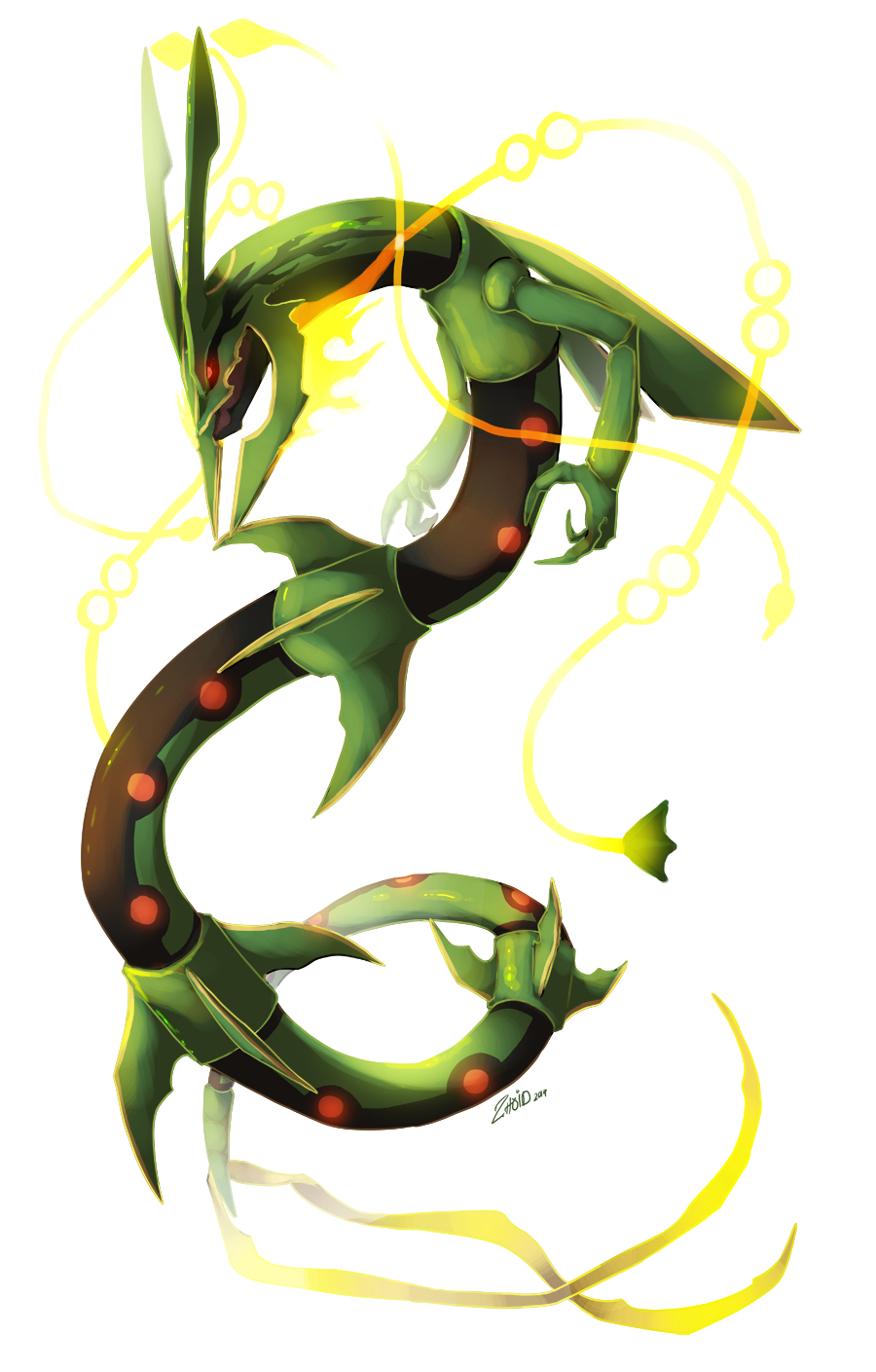 Rayquaza favourites by KyuubiCore on DeviantArt