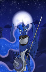 The Moon by Sinrar