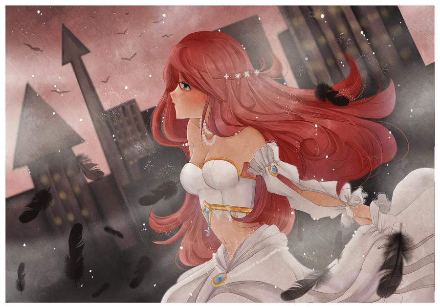Crow Goddess by Parikuu