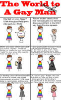 The World to a Gay Man by F-TheMainstream