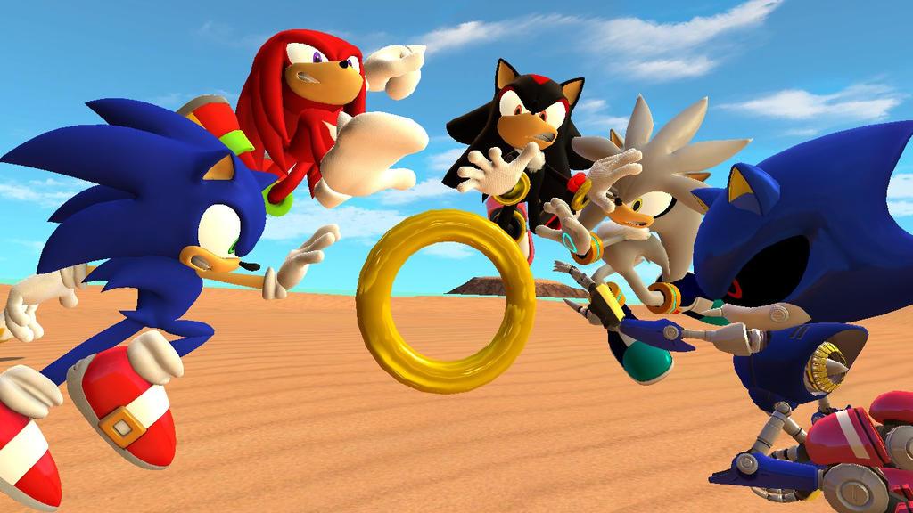 Sonic Rivals Скачать Торрент - фото 7