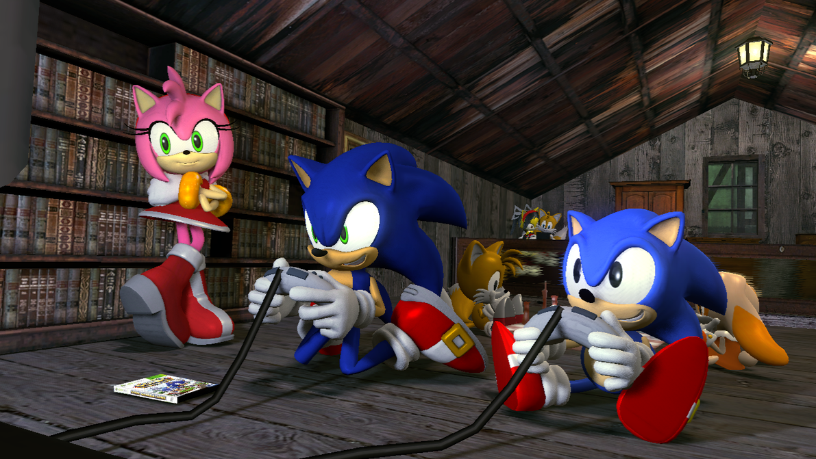 Sonic Generations Rainbow Rings Mod Colors