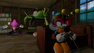 A Lazy Day with the Chaotix