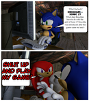 Sonic Sillies - 'Knuckles Don't Care 'Bout That'
