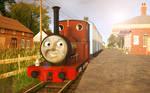 Skarloey Railway 2012 Wallpaper - (''Rheneas'')