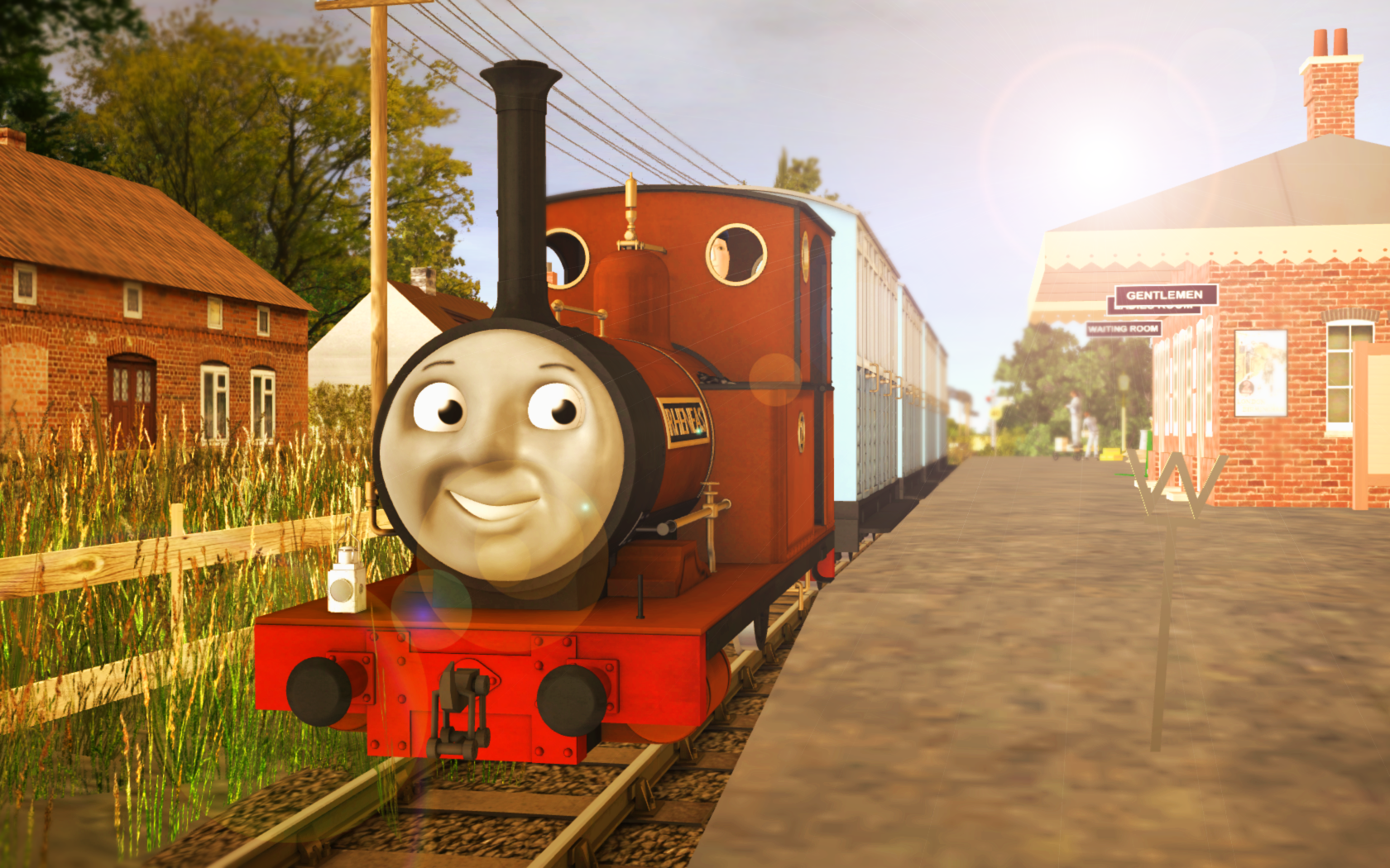Skarloey Railway 2012 Wallpaper Rheneas By