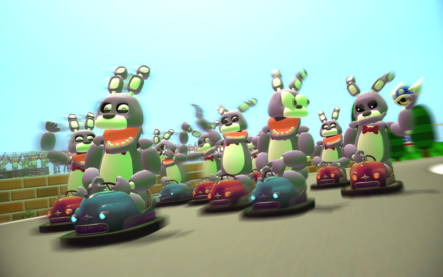 Bumper Car Madness