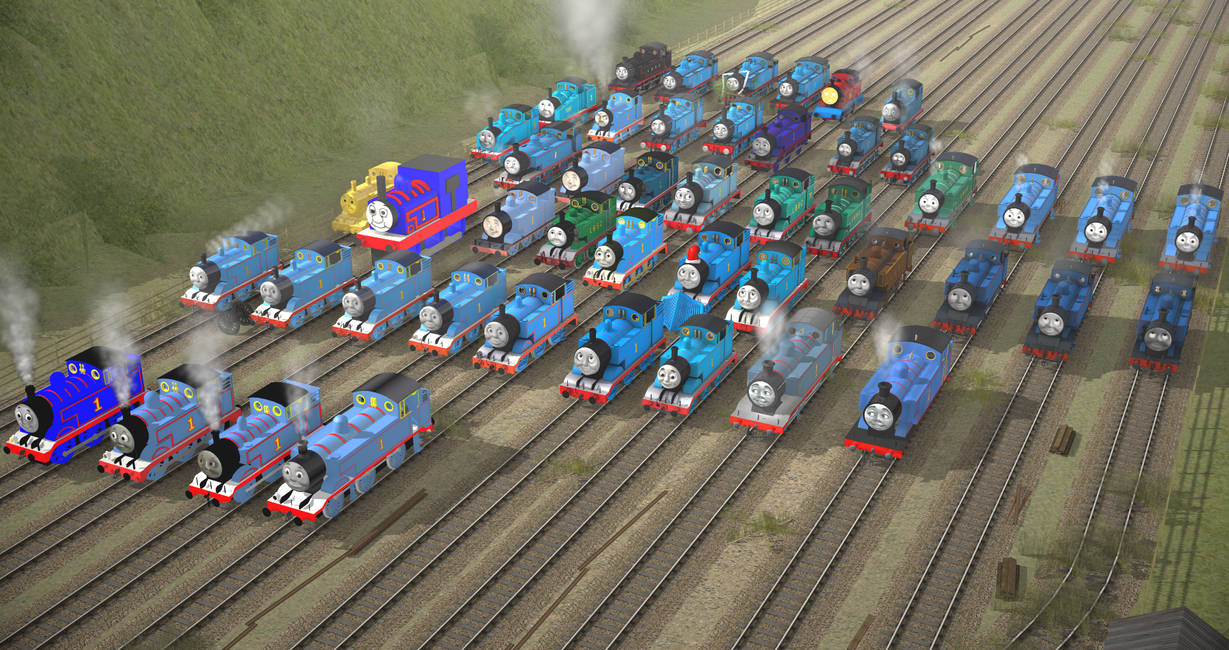 The History of Thomas in Trainz by Nictrain123 on DeviantArt
