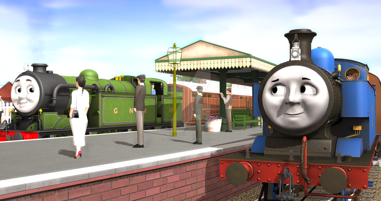 Meet and greet at the junction by nictrain123 on deviantart meet and greet at the junction by nictrain123 m4hsunfo