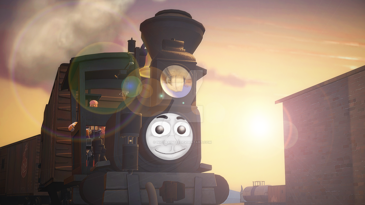 Old Smokey Rides Again by Nictrain123 on DeviantArt