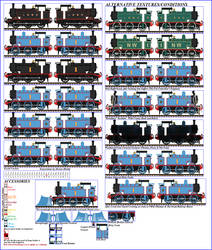 NWR No. 1 'Thomas', (TGE Design) Sprite Sheet