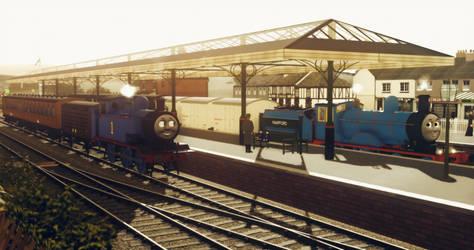 Morning Banter at Knapford Junction