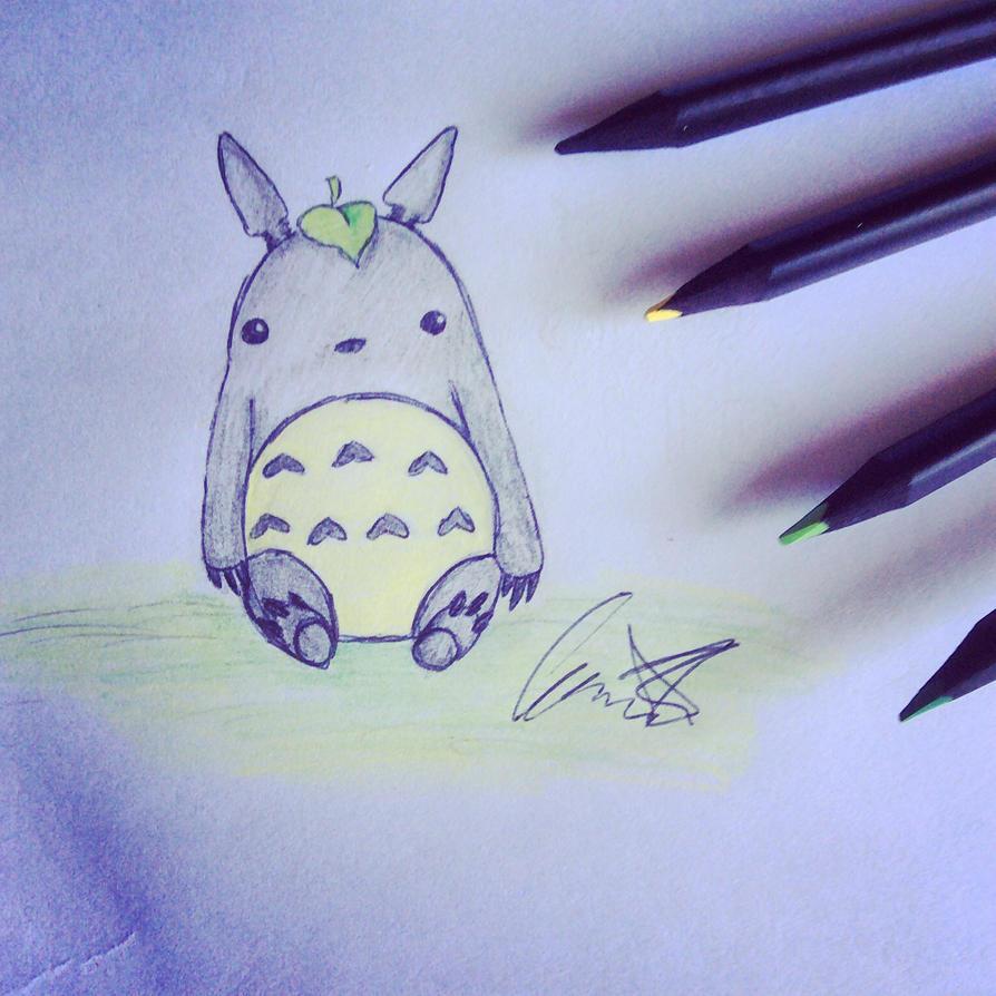 Totoro Doodle by larrykins14