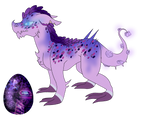 Aesthetic Egg 3 Hatchling by Cl0s3d-Sp3ci3s