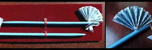 Blue Ocean hair sticks