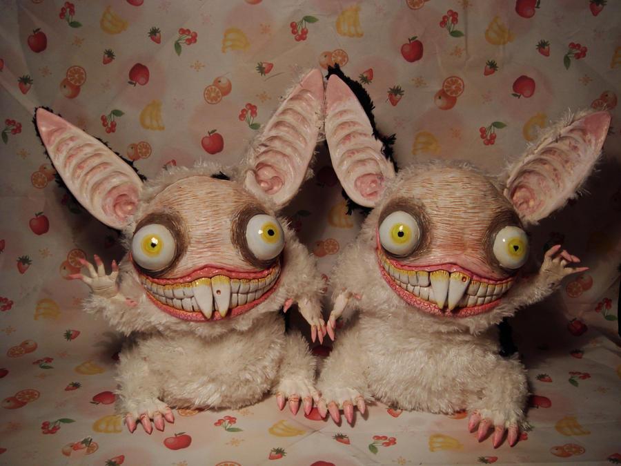 Bunny Twins by Santani
