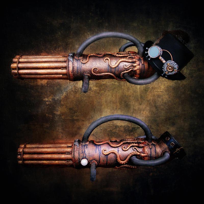 'Meduza' gun prosthesis by Santani