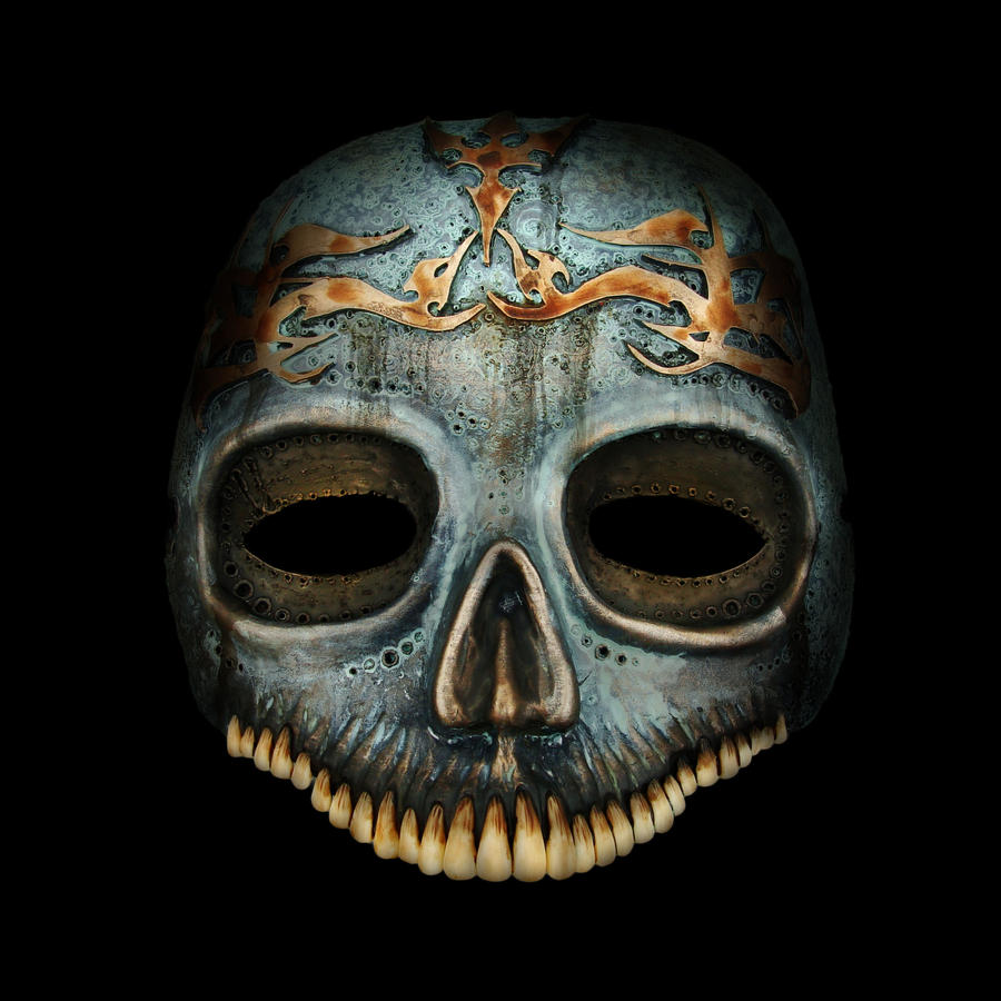 Death Eaters mask 1 by Santani