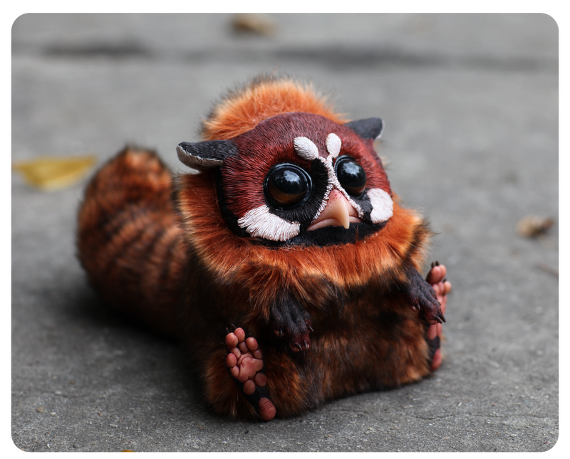 T.G. Red panda by Santani